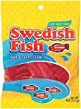 Swedish Fish Red Peg Bag, 4 Ounce (Pack of 12)