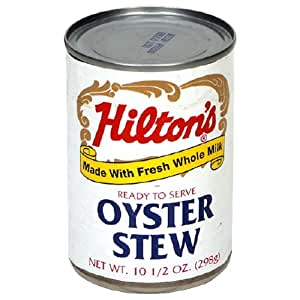 Hilton Oyster Stew, 10.5-Ounce Cans (Pack of 12)