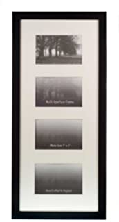 0cd1a10384d2 Kenro Modern Black Glass Photo Frame for 5 Photographs 6x4 inch ...