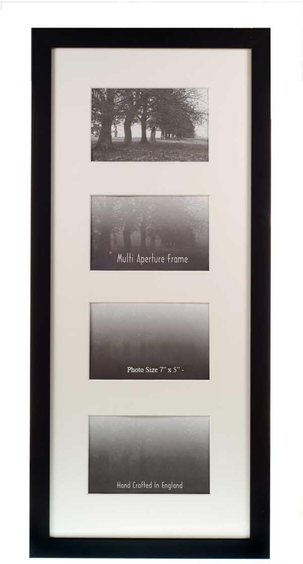 Con espacio para varias fotos marcos para 4 fotos de - negro - 17,78 ...