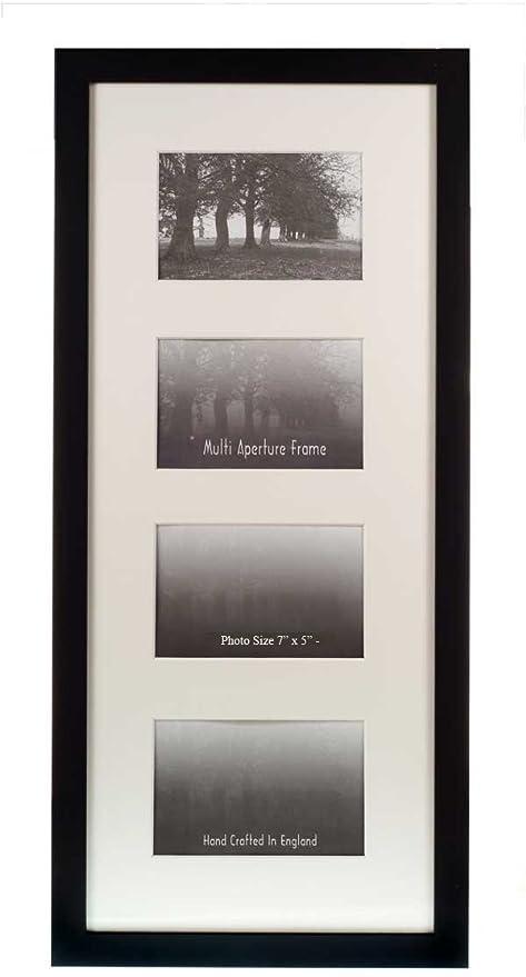 Multi Aperture Frames To Fit 4 Photos Black 7 X 5 Amazonco
