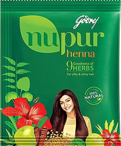 Nupur Henna - Goodness of 9 Herbs - 1000 Grams by NUPUR