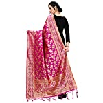 Perfect blue Women's | Women's Kora Silk Banarasi Dupatta/Chunni