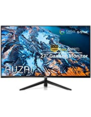 $229 » Computer Monitor - 2021 AUZAI 27 Inch 144Hz 1ms IPS Gaming Monitors, FHD 1080P Frameless Display, Support G-Sync & FreeSync, with HDMI/DP/USB Port for Xbox PS4/5 PC, Tilt Pivot, VESA Mount