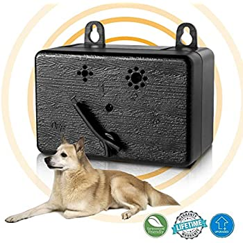 Amazon Com Lambow Mini Bark Control Device Outdoor Anti