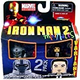 Minimates: Marvel Series 35 Hammer Drone & Happy Hogan (Variant) Action Figure 2-Pack by Diamond Select