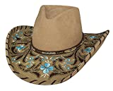 Montecarlo Bullhide Hats ALWAYS ON MY MIND Premium Wool Cowboy Western Hat (Small)