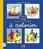 32 images de l'Evangile à colorier, numéro 4