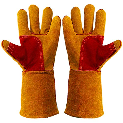 Strong heavy duty gloves.