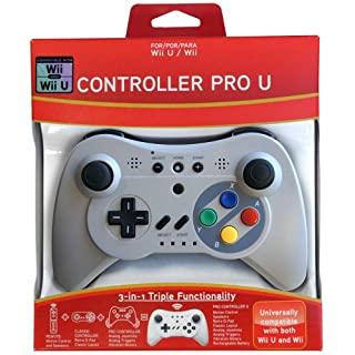 Pro Controller U for Wii and Wii U - Classic (B009O3WU2A)   Amazon price tracker / tracking, Amazon price history charts, Amazon price watches, Amazon price drop alerts