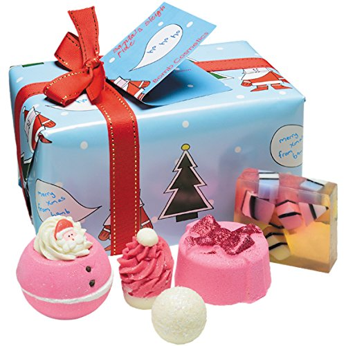 Bomb Cosmetics Santa's Sleigh Ride Gift Pack (Gift Pack Delivery)