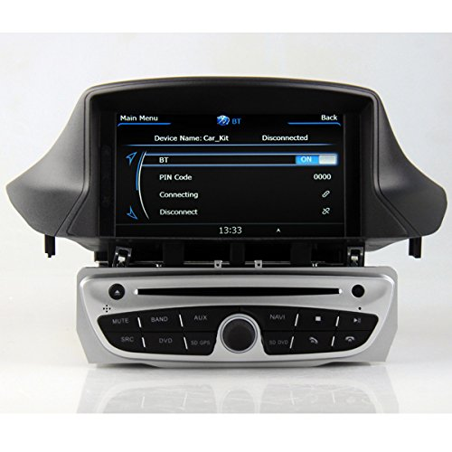 car dvd gps navigation for renault megane iii 3 fluence import it all. Black Bedroom Furniture Sets. Home Design Ideas