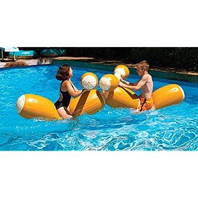 Swimline Log Flume Joust Set: Toys & Games