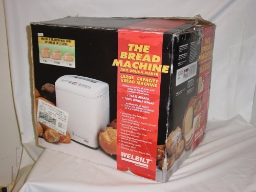 WELBILT ABM6000 the BREAD MACHINE with DOUGH MAKER Large Capacity in 3x Sizes