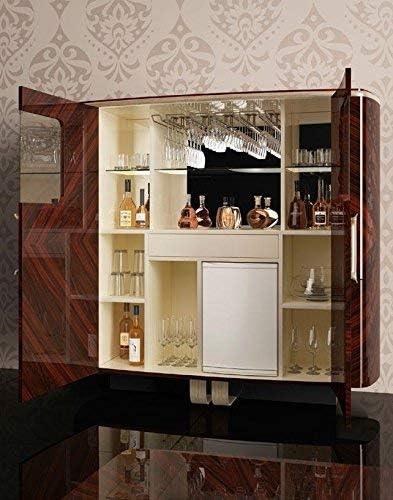 Angolo Bar Da Salotto Prezzi.Dafne Italian Design Mobile Bar In Legno Palissandro H 186xp 61x