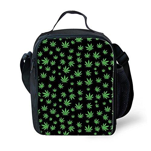 cc6157g K Foglia Stoffa Multicolori Di 2 Borsa 3 Cannabis Coloranimal Donna Frutti 7U5wdq7