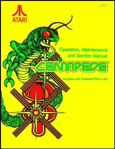 Centipede Arcade Game Service & Repair Manual