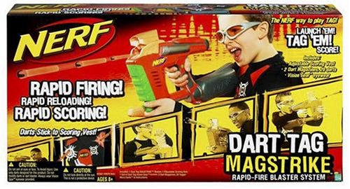 Hasbro Nerf Dart Tag Mag Strike Red by Hasbro