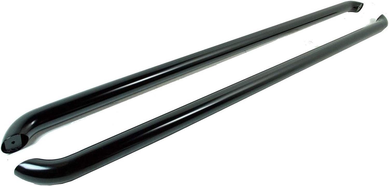 Van Demon Sportline Style Black Steel Side Bars Step Rails for VW Transporter T6 2015 on SWB