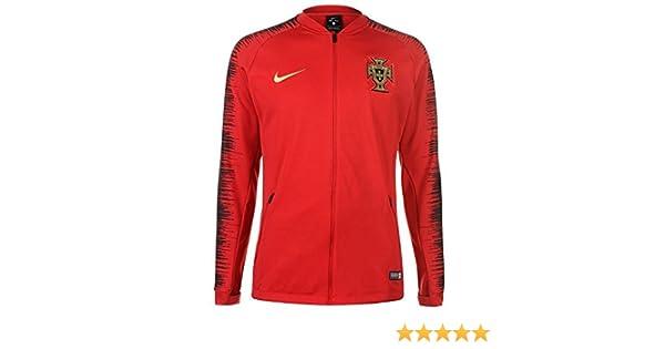 299ae9c06 Amazon.com : NIKE 2018-2019 Portugal Anthem Jacket (Red) : Clothing