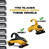 HeadBlade Men's HB2 Disposable Refill Shaving Razor Blades (2 Blades) for Sport and Classic Models
