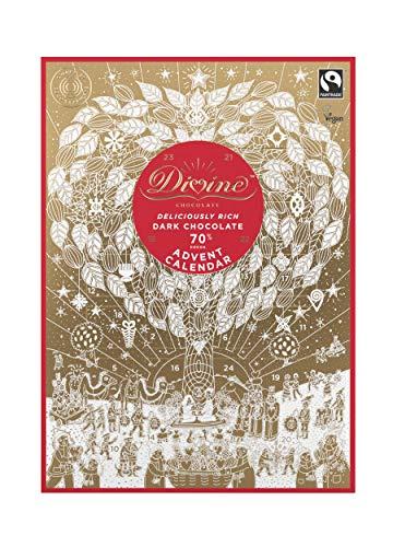 Divine Dark Chocolate - Divine Dark Chocolate Advent Calendar 85g