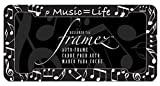 Music Best Deals - Chroma Graphics 42530 Music = Life Plastic Frame