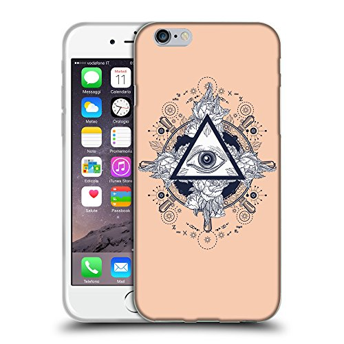 GoGoMobile Coque de Protection TPU Silicone Case pour // Q08530604 Religion 17 Abricot // Apple iPhone 6 PLUS 5.5""