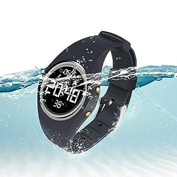Hootracker Pulsera Inteligente-Reloj de Pulsera Digital, Fitness Rastreador, Pantalla de Gran Tamaño