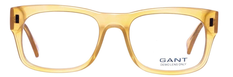 55 Beige GANT Unisex-Erwachsene Brille GAA175 55G73 Brillengestelle