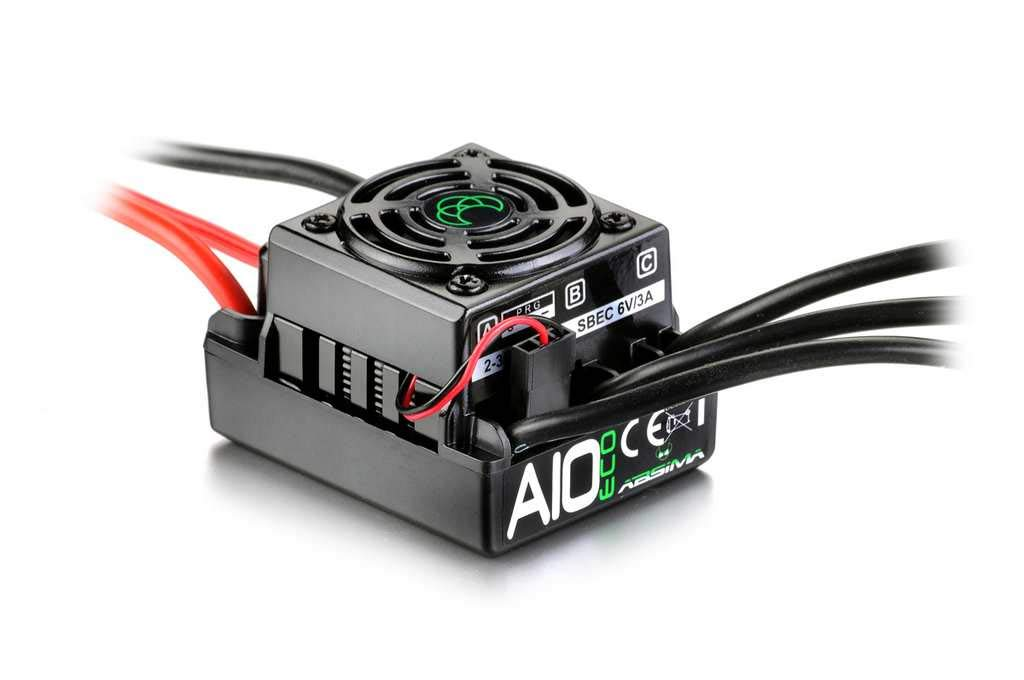 Brushless Esc  thrust A10 Eco  50a 1 10 Waterproof