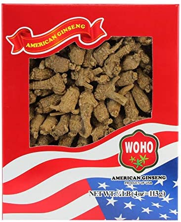 WOHO Premium Select American Ginseng Short Medium Large 4oz