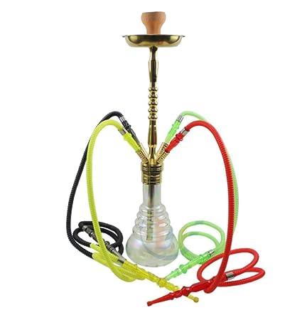 Amazon.com: XZYP - Cachimba moderna árabe de cristal con ...