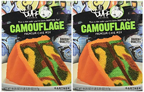 Duff Decorating Mix Cake Camouflage