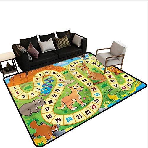 (Board Game,Home Bedroom Floor Mats 36