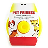 Dog Pet Frisbee Toy Flying Disc Trainning Puppy Flyer Throwing Fetch Catcher New, My Pet Supplies