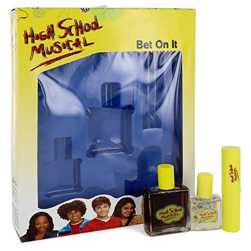 (HIGH SCHOOL MUSICAL Perfume Gift Set 1.0 oz cologne+ Purse Spray + 0.25 oz. shimmer fragrance stick)