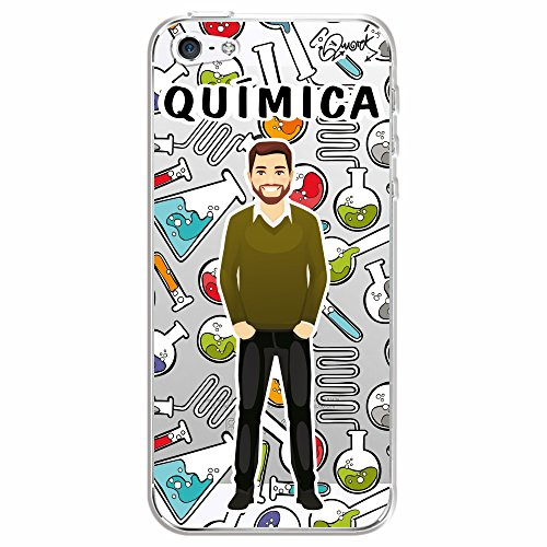 Capa Personalizada para Apple iPhone 5 - QUÍMICA MASC - Quark