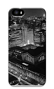 iPhone 5 5S Case Gray Pennsylvania Station Baltimore 3D Custom iPhone 5 5S Case Cover