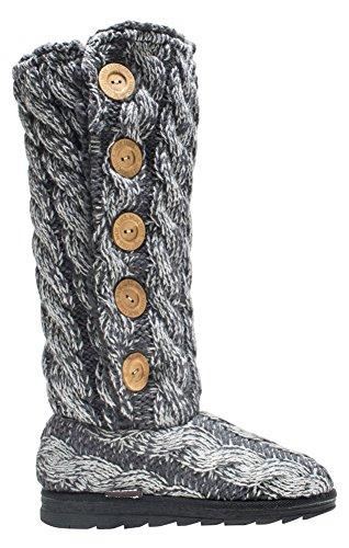 Muk Luks Womens Malena Fashion Boots Grigio