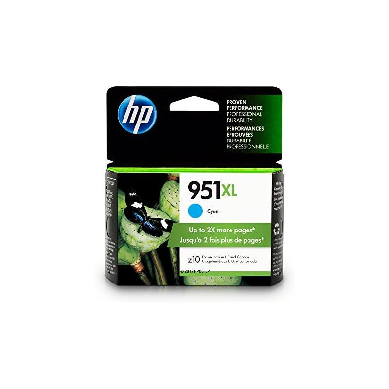 HP CN046AN#140 951XL Ink Cartridge, Cyan