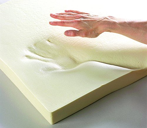 Upholstery Visco Memory Foam Square Sheet- (1/2