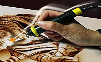 Professional 2Pcs//lot High Temperature Thermal Insulation Material Cover Gourd Pyrography Pen for 50W Gourd Pyrography Machine Pyrography Pen