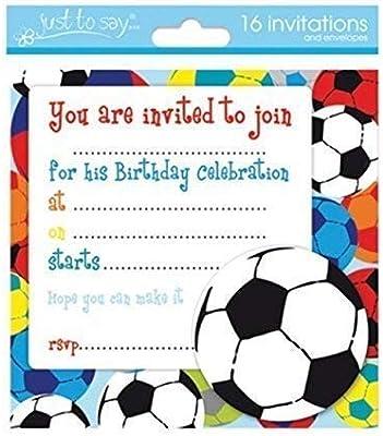 The Home Fusion Company 16 x niños cumpleaños invitar ...