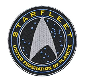 Patch Squad Men's Tactical Star Trek TNG STARFLEET COMMAND United Federation of Planets