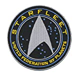 Patch Squad Mens Tactical Star Trek TNG STARFLEET COMMAND United Federation of Planets