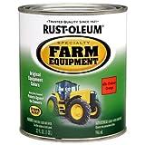 Rust-Oleum 7458502 Specialty Farm Equipment Enamel, Orange Allis Chalmer, 1-Quart