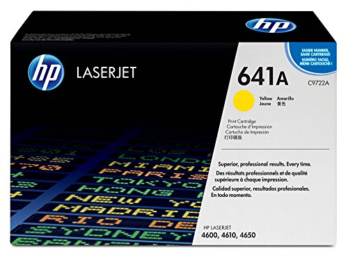 HP 641A (C9722A) Yellow Toner Cartridge for HP Color LaserJet 4600 4650