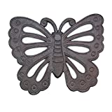 Cheap Zingz & Thingz 10017199 Cast Iron Butterfly Stepping Stone