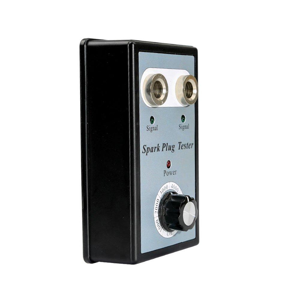 VXSCAN Car Spark Plug Tester with Adjustable Double Hole Detector Ignition Plug Analyzer for 11mm Spark Plug by VXSCAN (Image #4)
